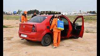 #Coronavirus : La Préfecture de Ben M'Sick organise une vaste opération de nettoyage des taxis