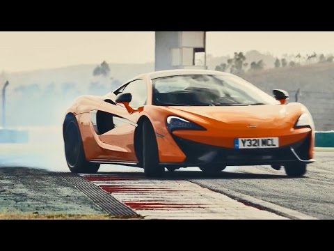 2016 McLaren 570S Coupe - Test Drive on Racetrack