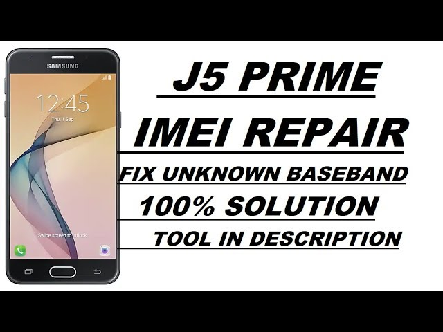 Download thumbnail for SM-G570F J5 Prime Repair IMEI And Fix