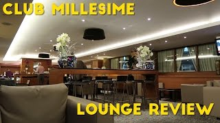 Club Millesime at LHR Lounge Review (Priority Pass)
