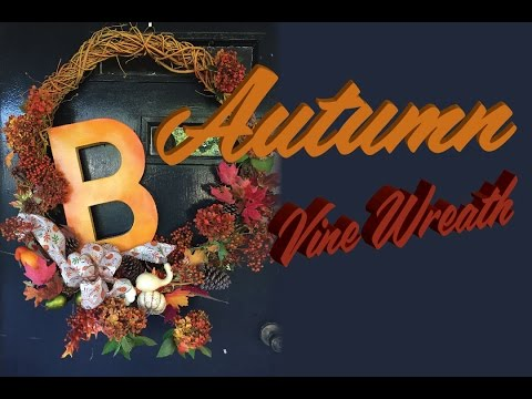 Autumn Vine Wreath
