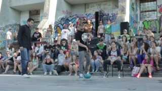 Mirok vs Смокикот* Break dance 1X1 1/2 Final ROUND 1* JAM4IK 3.0
