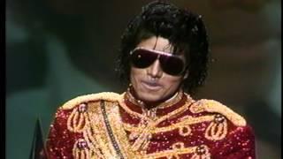 """Michael Jackson Wins Favorite Pop Single for """"Billy Jean"""" - AMA 1984"""