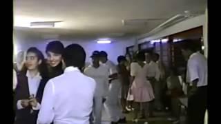 Galera Dançando Flash House 12-10-91 (Aniversário Elizabeth 15 Anos) Parte 2