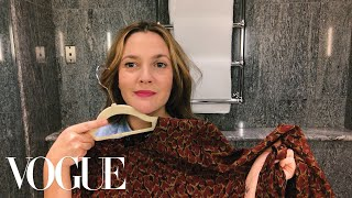 Drew Barrymore's Genius Guide to On-the-Go Beauty | Beauty Secrets | Vogue