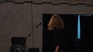 Christina Rosenvinge en el EMAC de Burriana   5 de febrero de 2017