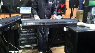 Yamaha PSR-S750 live demo