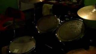 One Tree Hill (U2) - fragmentary 'cover' on drums