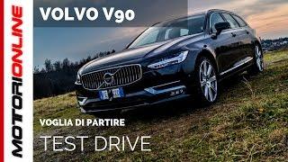 Volvo V90   Test drive, pregi e difetti