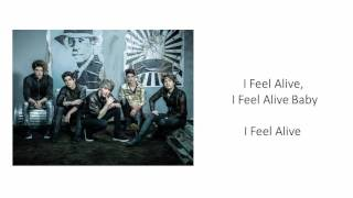 CD9 - I Feel Alive [English Version] [Letra]