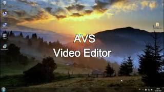 AVS Video Editor 8.0.3.303 Serial Key Free