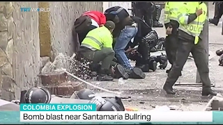 Colombia Explosion: Bomb blast near Santamaria bullring