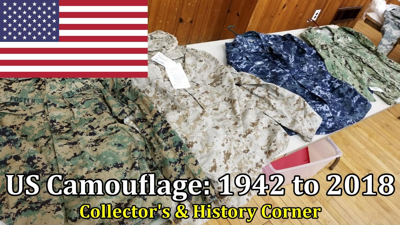 US Camouflage : 1942 to 2018 | Collector's & History Corner