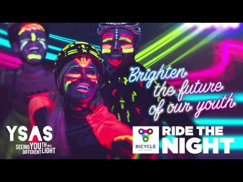 Ride the Night 2017 - meet Paul from YSAS