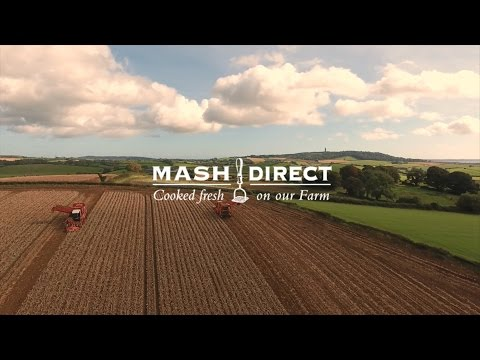 Mash Direct, Potato Manufacturers - Potato Harvest Drone