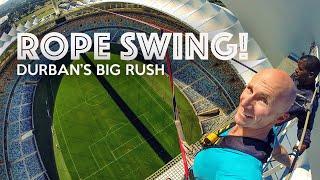 BIG RUSH - World's Tallest Rope Swing