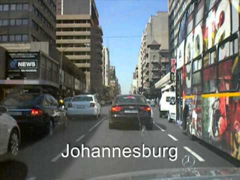 Driving In Johannesburg. South Africa.
