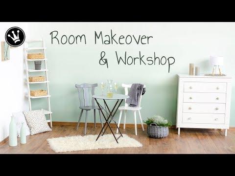 Room Makeover | Workshop Farbsprühgeräte + VERLOSUNG | Tipps für das Arbeiten mit Farbsprühgeräten