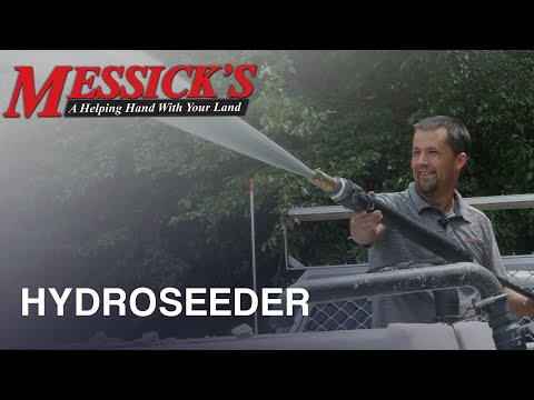 Stabilizing & Fertilizing a new lawn with a Hydroseeder Picture