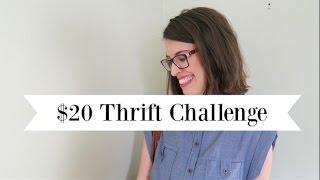 $20 Thrift Challenge