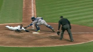 TOR@CLE: Blue Jays challenge safe call in the 4th