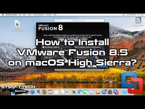 VMware Setup Video