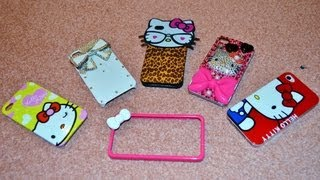 Iphone Case Collection and Where i got them from??? Hello Kitty Cases