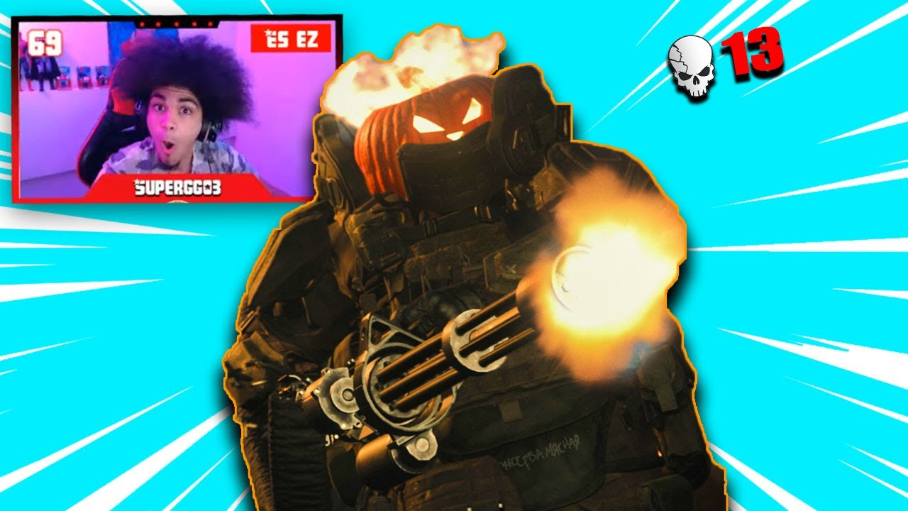 SuperGG03 - HUNTING PLAYERS WITH THE JUGGERNAUT! l Halloween Event