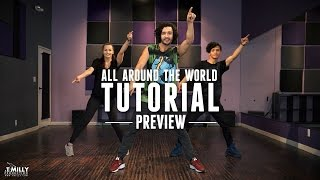 Dance Tutorial [Preview] - Justin Bieber - All Around The World - Choreography by Alexander Chung