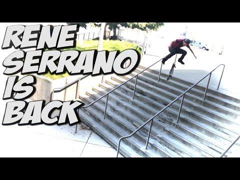 RENE SERRANO IS BACK !!! - A DAY WITH NKA -