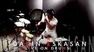 Danza Kuduro by Don Omar ft. Joakin Eskasan Live on Drums - DJwithDRUMS