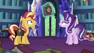 [English] Sunset Shimmer meets Starlight Glimmer | MLP Equestria Girls Specials - Mirror Magic