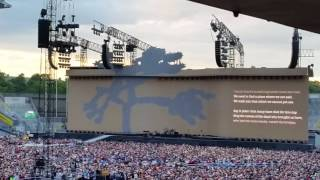 The Whole of the moon, Croke Park Dublin, U2