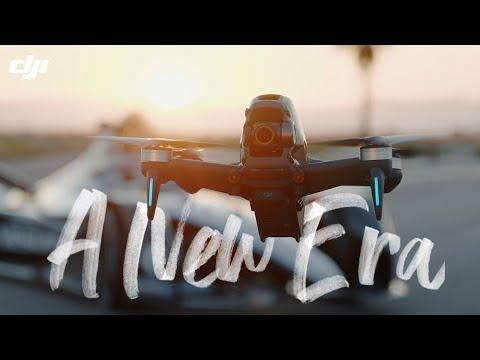DJI & Mercedes-EQ Formula E Team - Flying Into a New Era