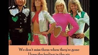 Summer Night City - ABBA - (Lyrics)