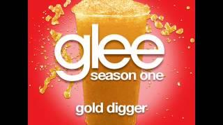 Glee - Gold Digger [LYRICS]