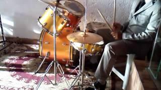 Fundo musical  na bateria