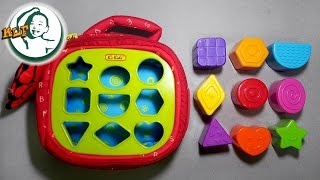 Learn shapes with K's Kids Patrick Shapes-a-boo width=