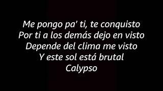 Luis fonsi Ft Karol G - Calypso Remix (Letra)