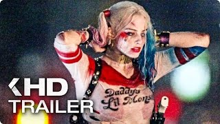 Suicide Squad ALL Trailer & Clips (2016)