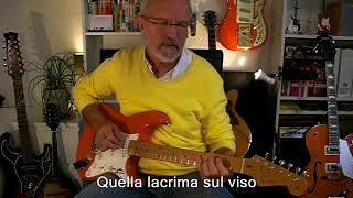 UNA LACRIMA  SUL VISO   (Bobby Solo instr. cover)