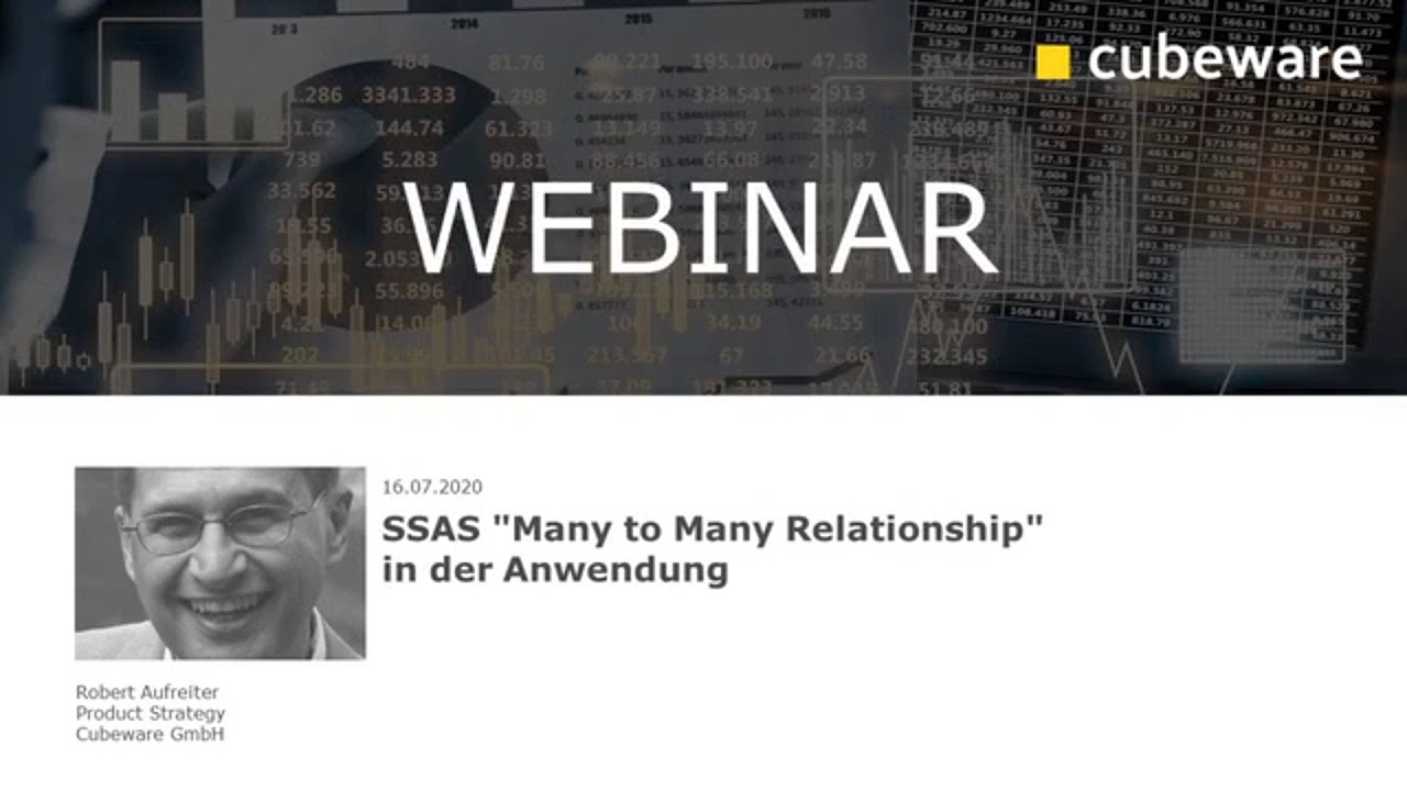 """SSAS """"Many to Many Relationship"""" in der Anwendung"""