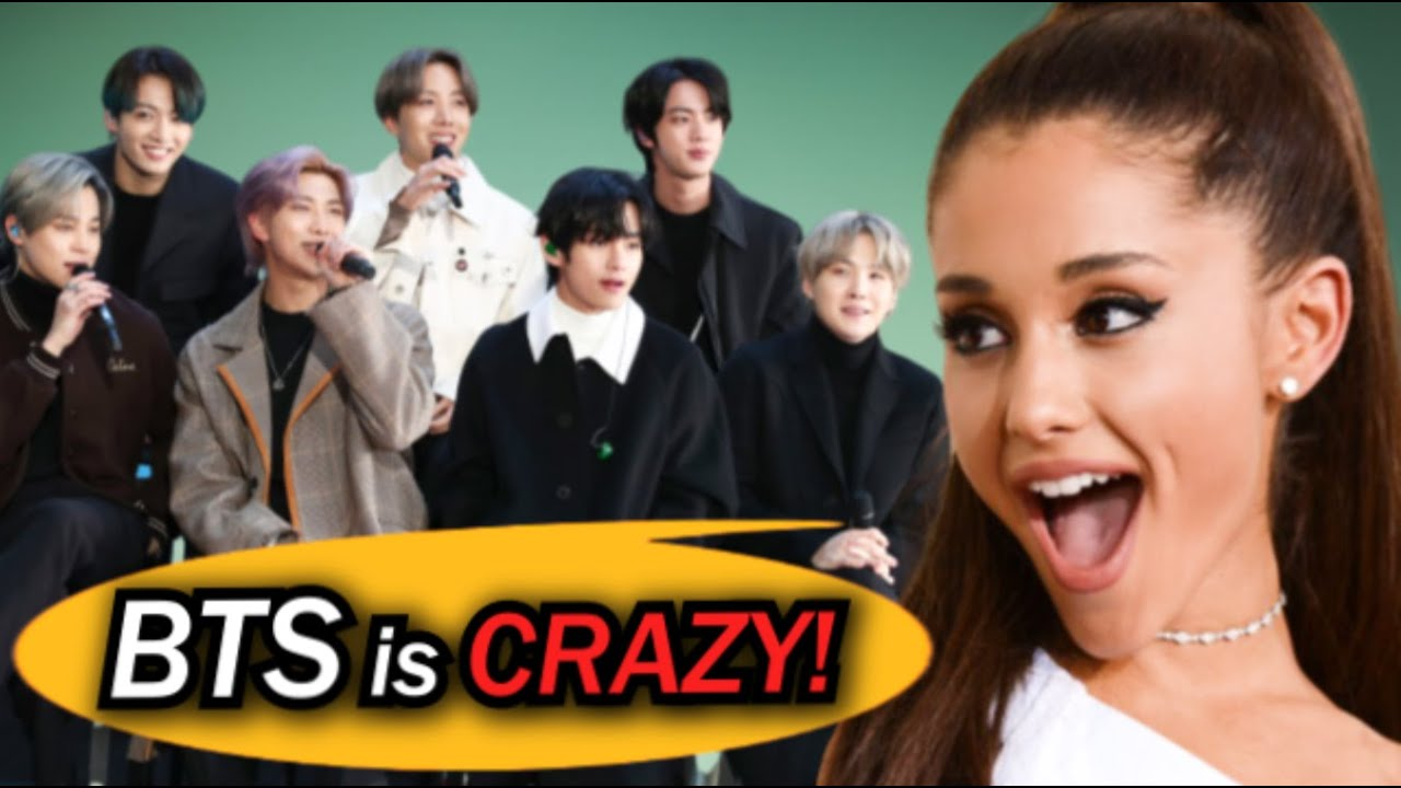 Why Ariana Grande was shocked by BTS' Rehearsal Stage?