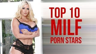 TOP 10 Big Breast MILF Adult Actress 2017