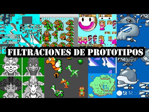 Peasoroms 2020 - Filtraciones de prototipos de Nintendo [Aproximación]
