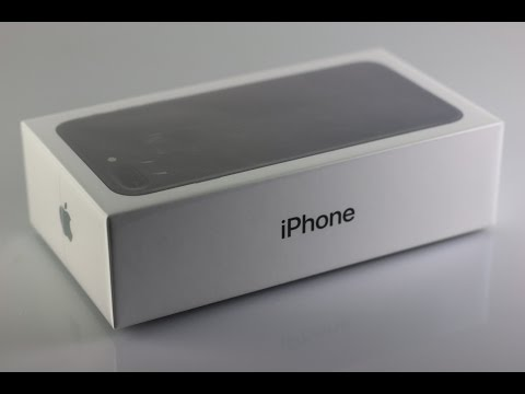 iPhone 7 Plus - unboxing