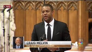 Craig Melvin at Jim Vance Memorial - Camelot Showbar Story