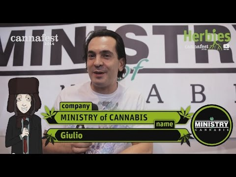 Ministry of Cannabis @ Cannafest 2014 Prague