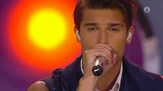 Eric Saade-Hotter than fire(new slow version) Live@Sommarkrysset (4.8.2012)