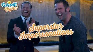 WWE Superstar impersonation challenge